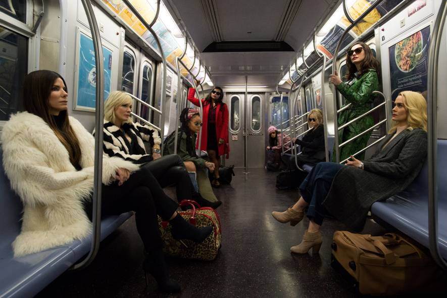 Check out the first look image for 'Ocean's 8'