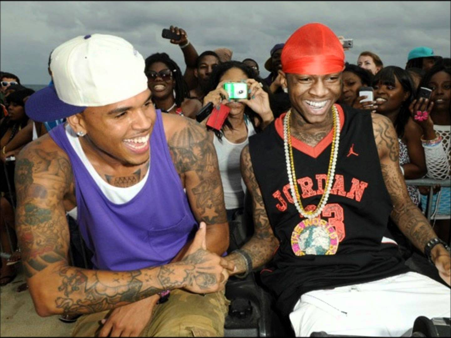Chris Brown vs Soulja Boy: Dissecting the Fight of the Century