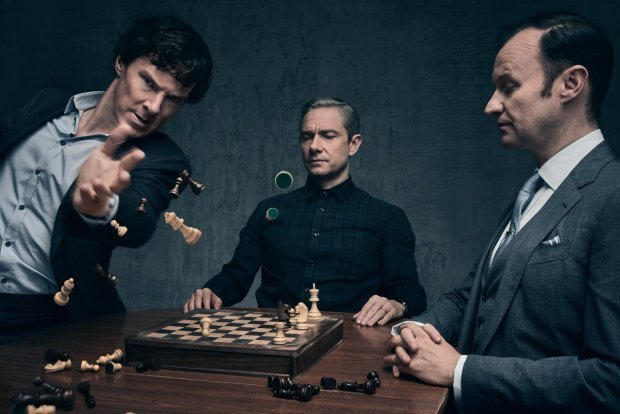 Sherlock is still the best show on TV – and it knows it