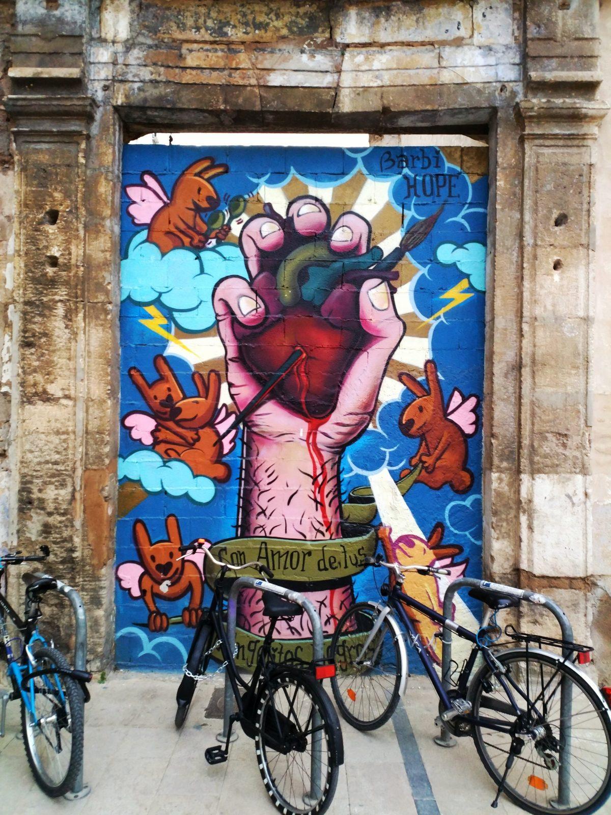 Shooting Valencia's Graffiti