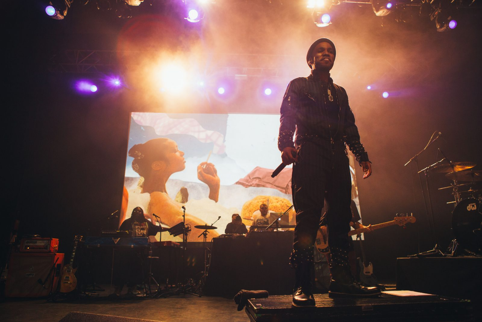 An evening at Anderson .Paak's sold out show