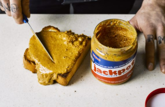 Get yourself a jar of Jackpot Motherf***ing Peanut Butter