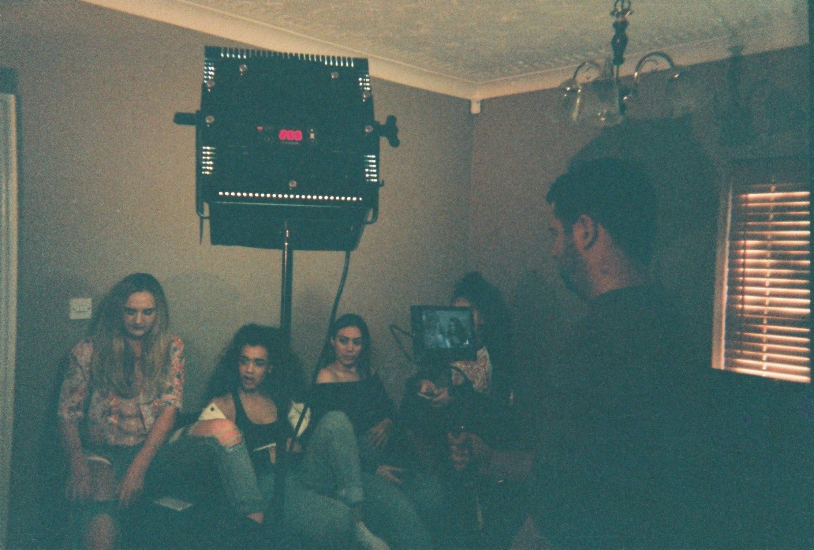 Behind the Scenes of the 'Paranoid' music video with Ruby Francis