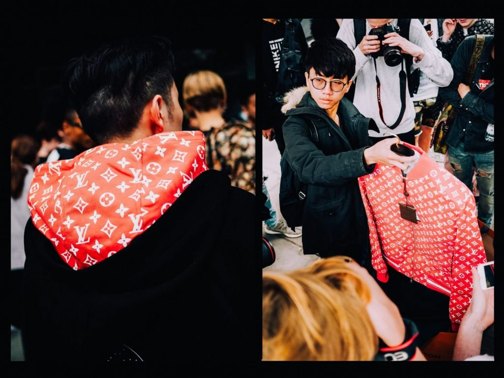 Capturing the stampede at the Supreme x LV London pop-up