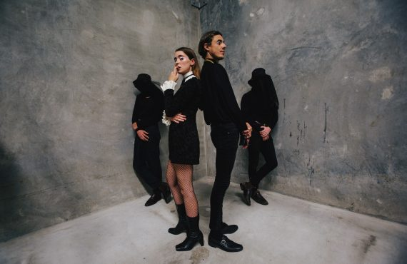 Hitting the road with Confidence Man