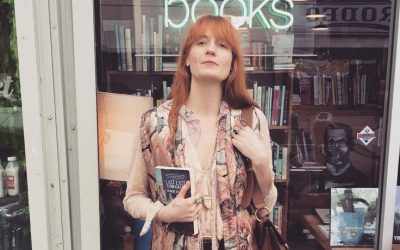 Between two books: Inside Florence Welch's book club