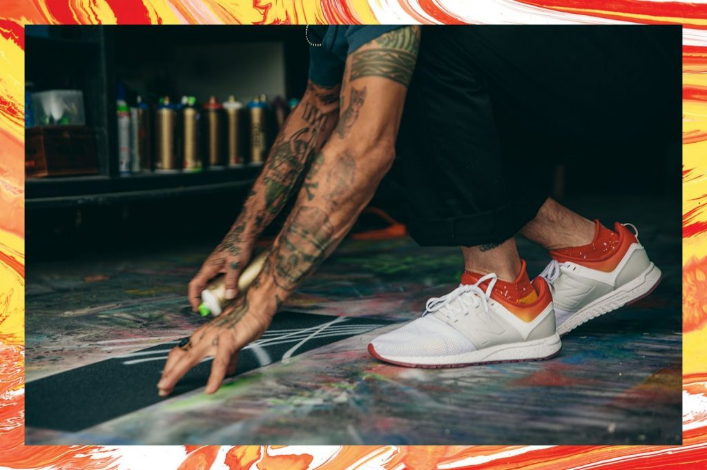 Stance and New Balance come together for 'ALL DAY ALL NIGHT'