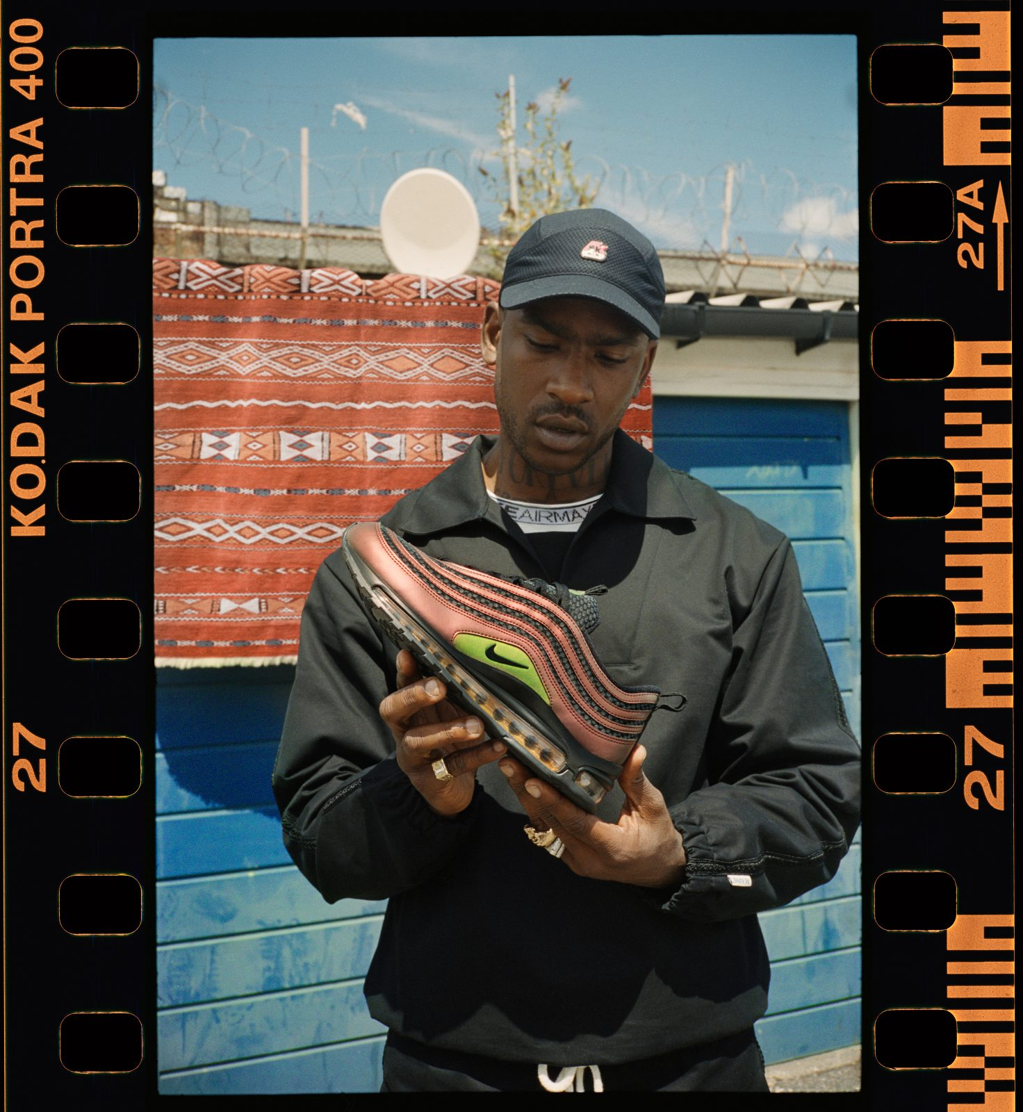 Skepta collaborates with Nike for limited edition Air Max 97