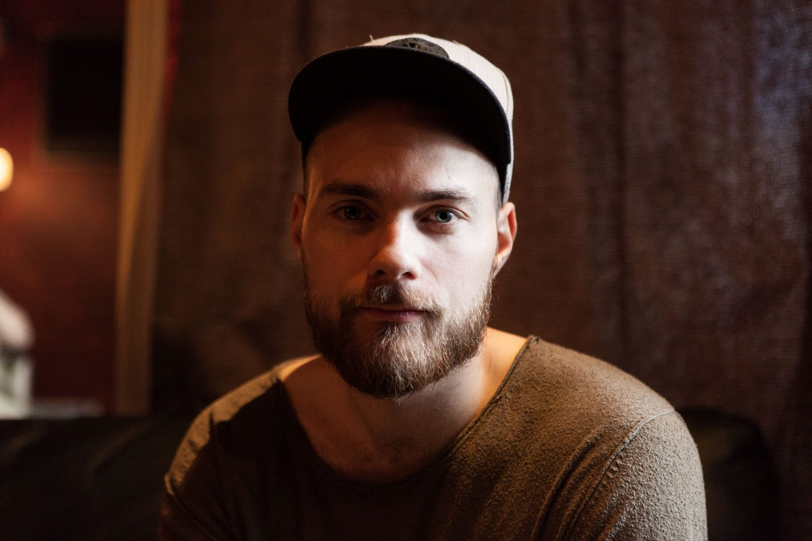 """in discussion with Ásgeir: """"You don't want to feel like you're forcing anything."""""""