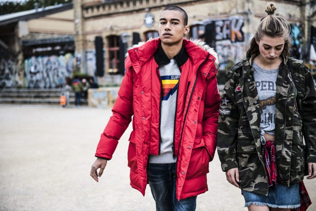 Superdry launch new range of jackets for AW17