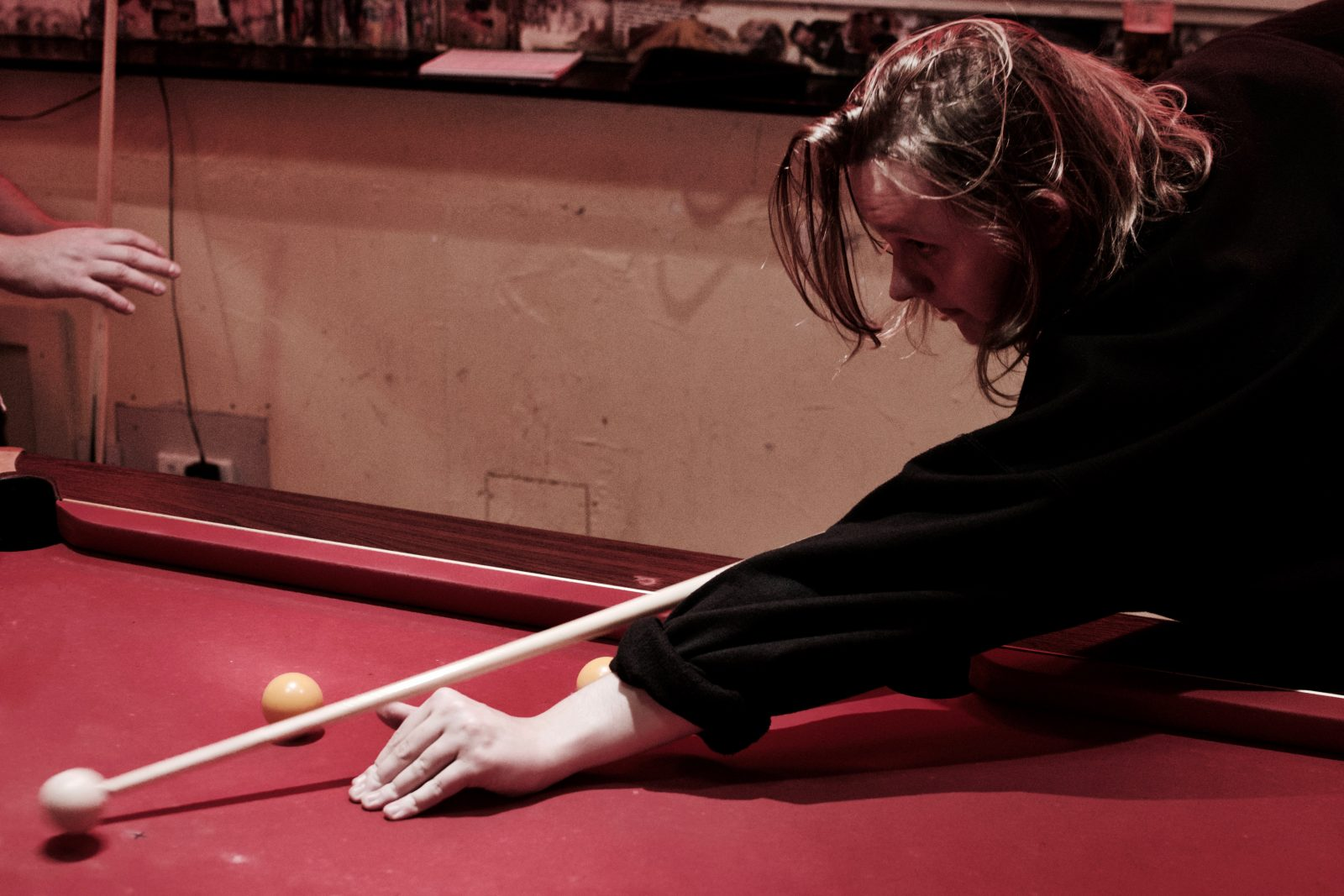 A game of pool with Lewis Capaldi