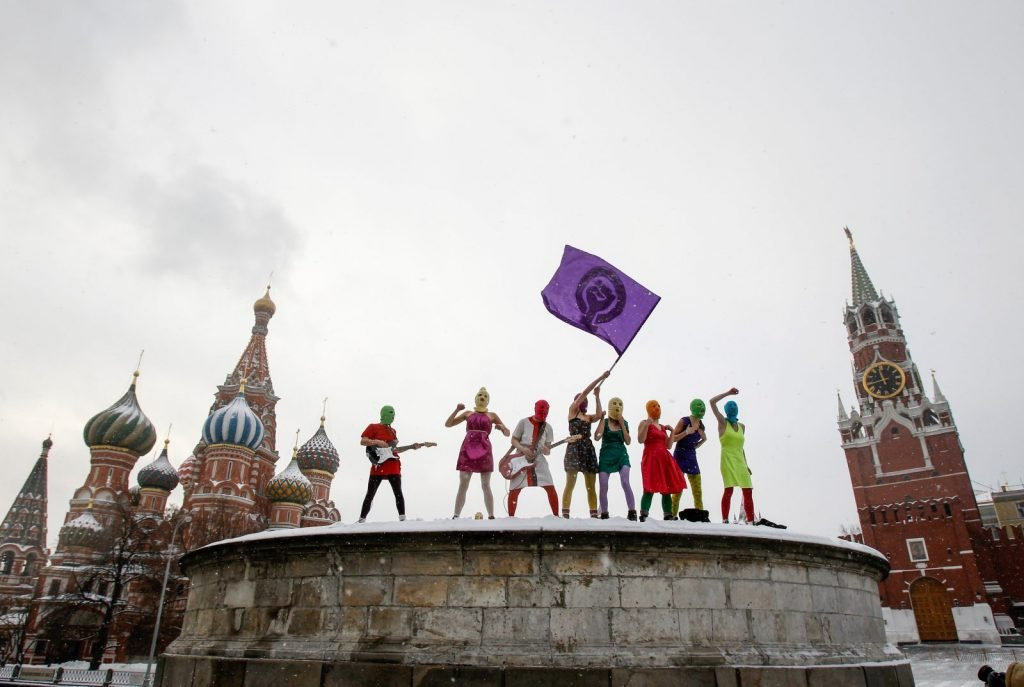 The importance of riot: Post-Soviet protest art
