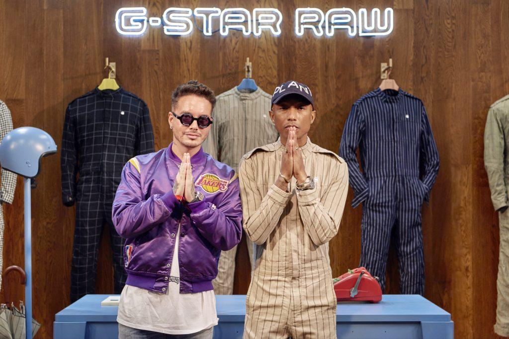 Pharrell Williams launches G-Star Raw suit collection