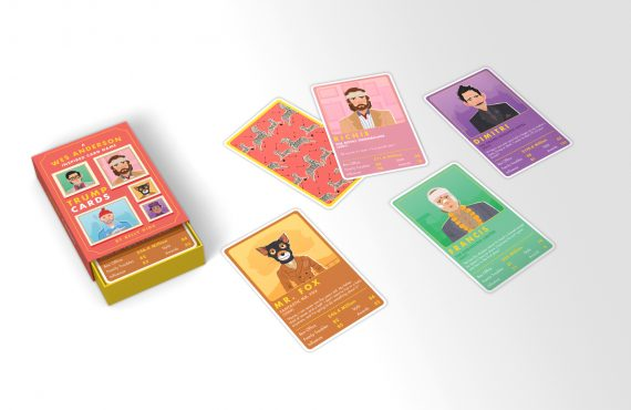 Wes Anderson trump cards are our new favourite thing