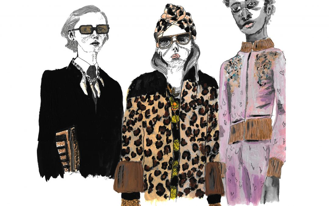 Fashion illustrated: Gucci are fake, and we're okay with it