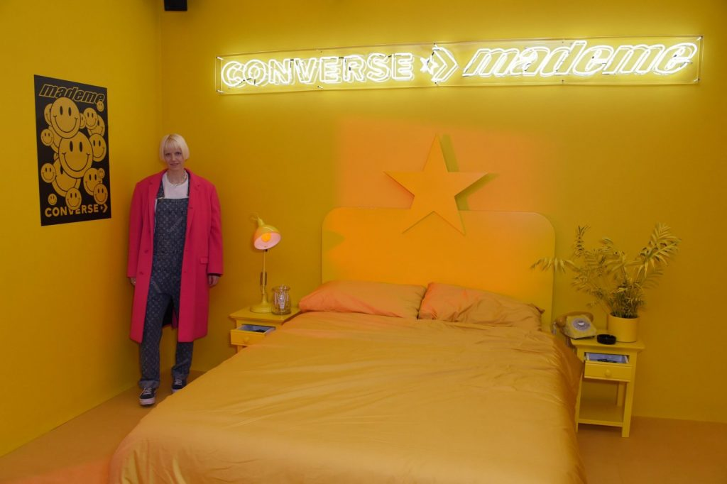 Checking in at Converse's One Star Hotel