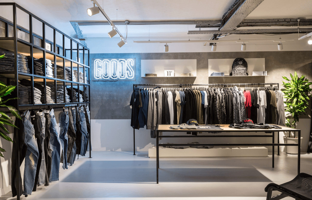Conceiving the GOODS store environment