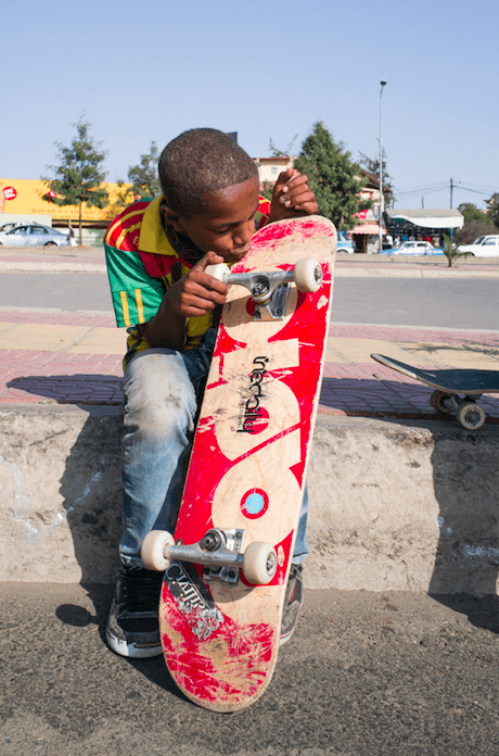 Capturing the unique warmth of Ethiopia's skate scene