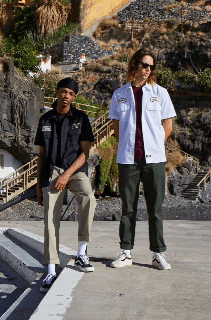 Get a glimpse at the SS18 collection from Dickies