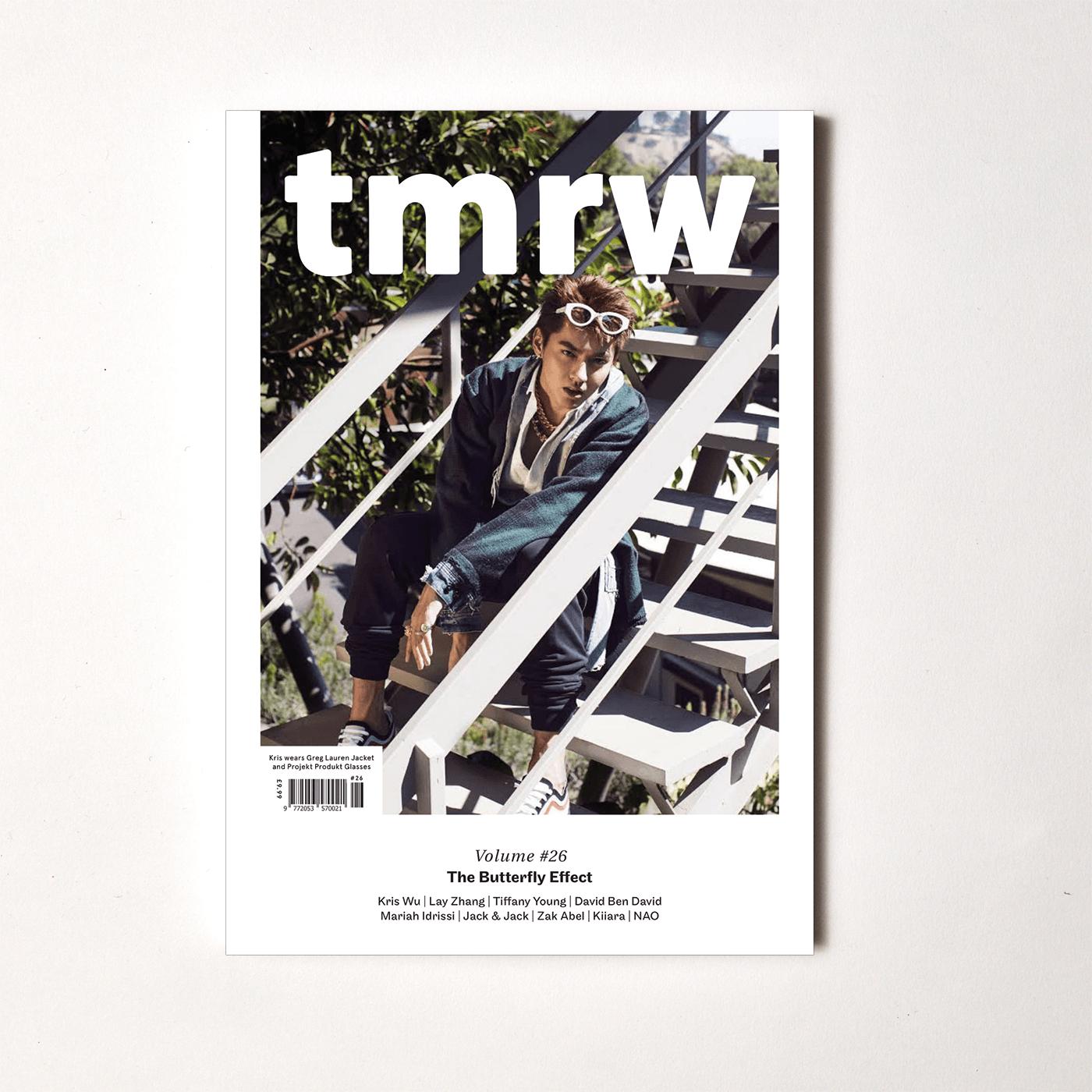 kris wu tmrw magazine