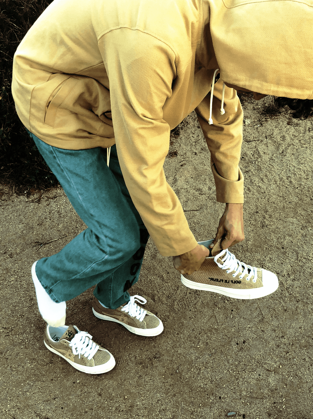 Tyler, the Creator's latest GOLF le FLEUR* collection for Converse